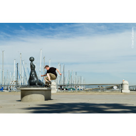 Zach 180 Nose Grind Photo Print