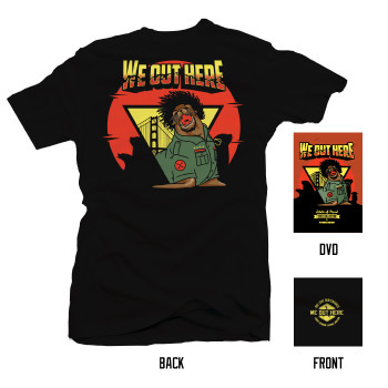 We Out Here T-shirt + DVD Combo