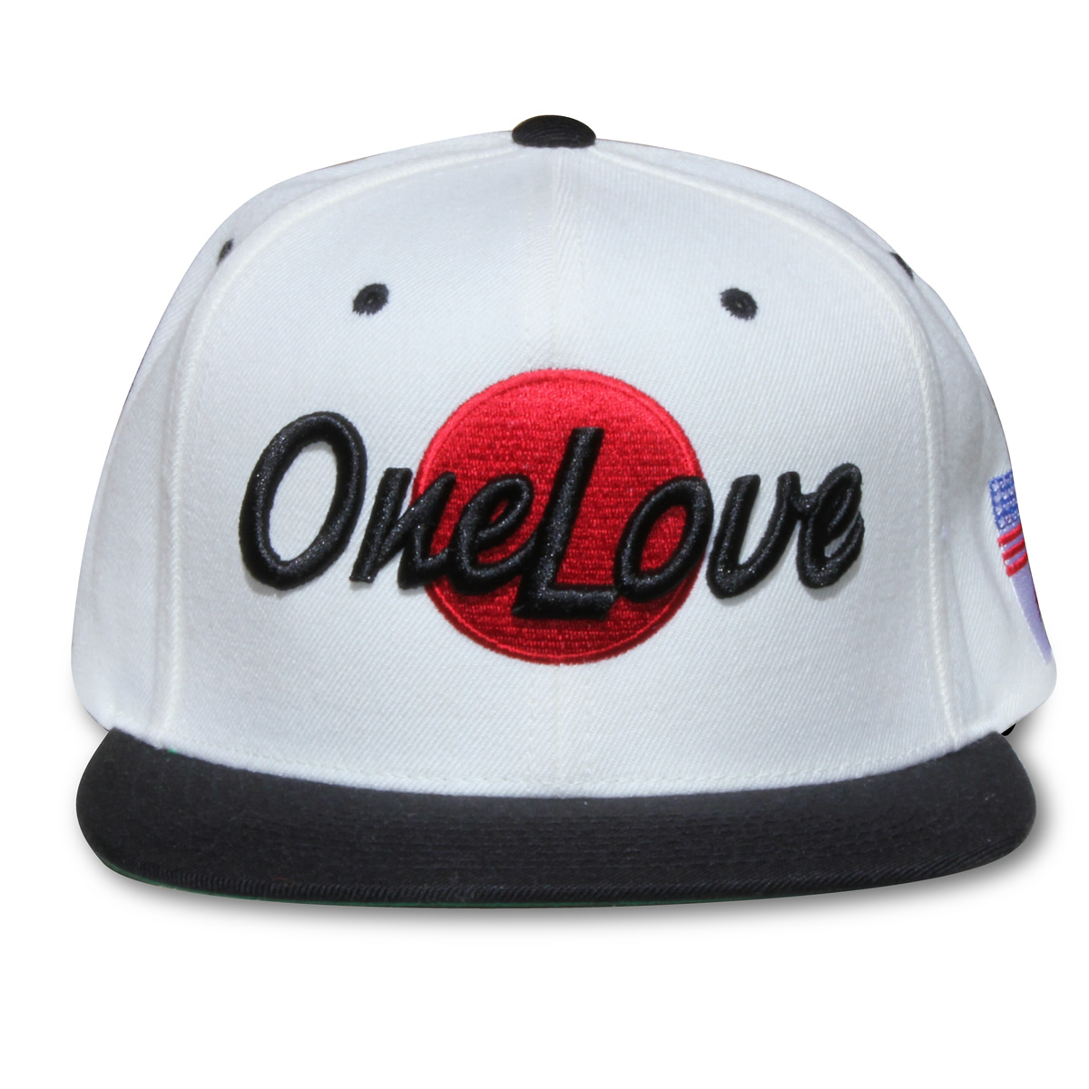 One Love – Stand in Love Hat (Snapback Wht Blk) « One Love Boards 889655c0f35a